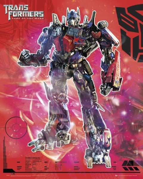 Juliste TRANSFORMERS 3 - optimus