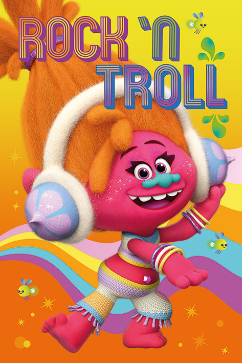 Juliste Trolls - DJ