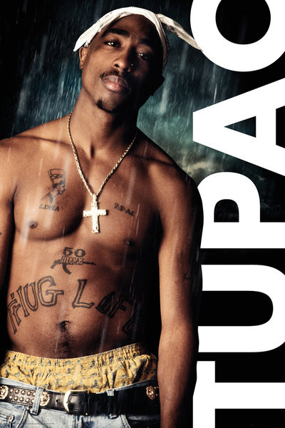 Juliste  Tupac - Rain