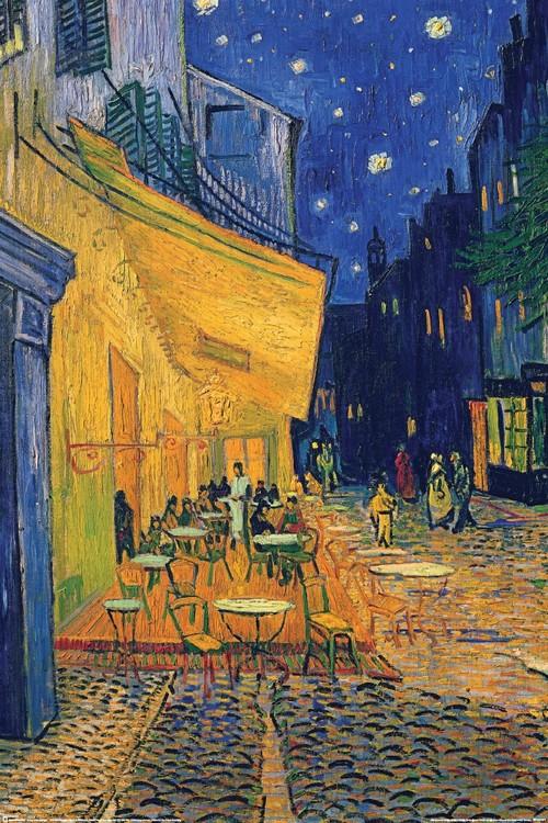 Juliste Vincent van Gogh - café terrace