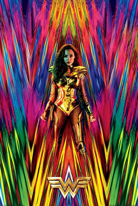 Juliste Wonder Woman 1984 - Neon Static