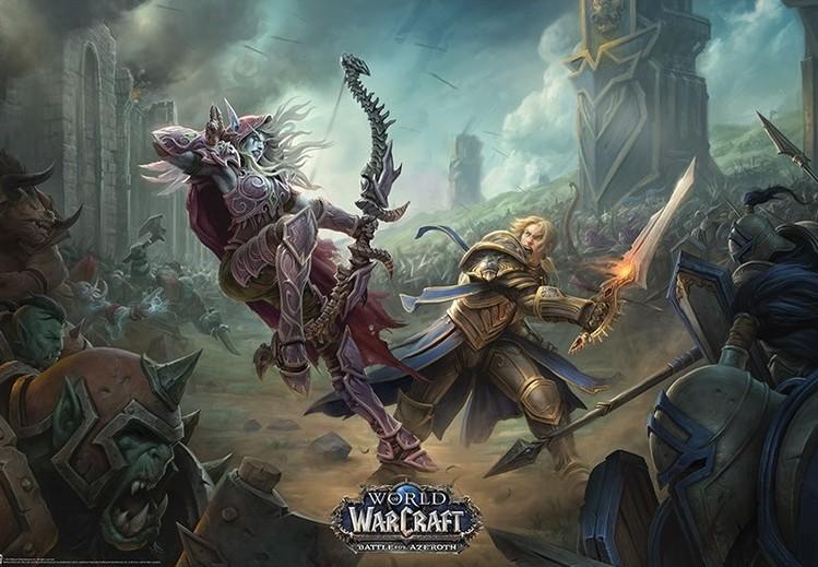 Juliste  World of Warcraaft - Battle For Azeroth