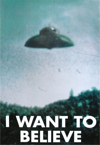 Juliste X-FILES - i want to believe