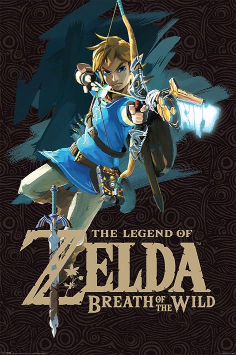 Juliste Zelda Breath of the Wild - Game Cover