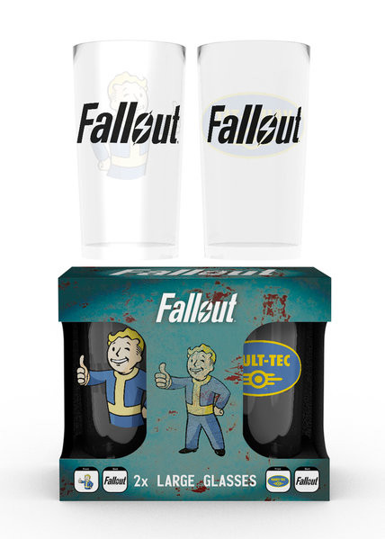Juomalasi Fallout - Vault Tec