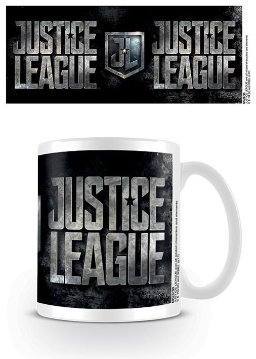 Cup Justice League Movie - Metallic Logo