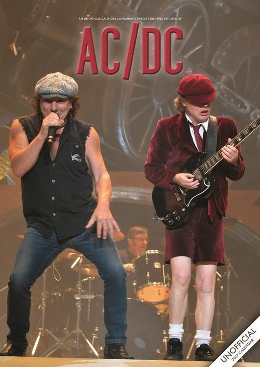 Kalenteri 2017 AC/DC