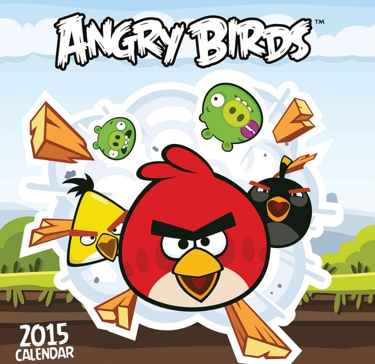 Kalenteri 2016 Angry Birds
