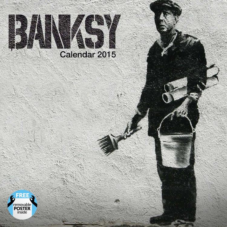 Kalenteri 2016 Banksy