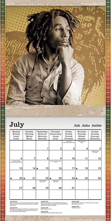 Kalenteri 2021 Bob Marley