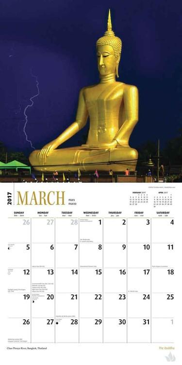 Kalenteri 2017 Buddha