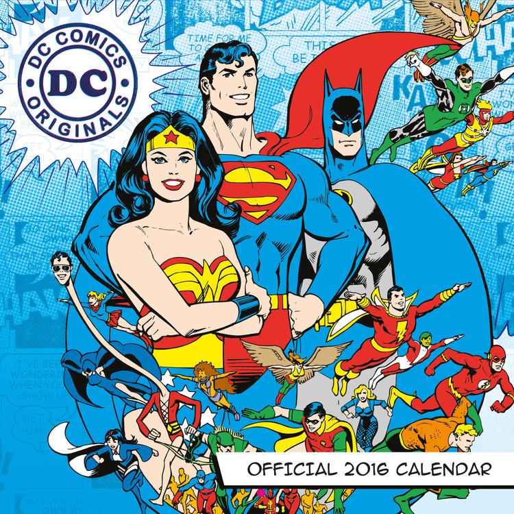 Kalenteri 2018 DC Comics