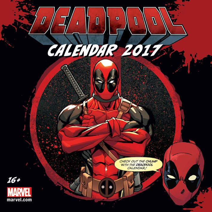 Kalenteri 2017 Deadpool