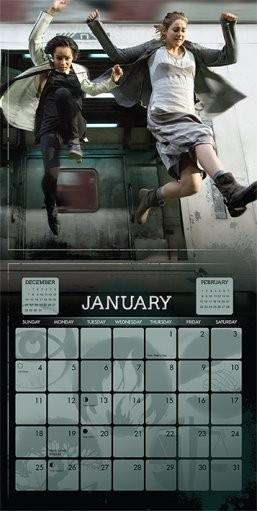 Kalenteri 2018  Divergent: Outolintu