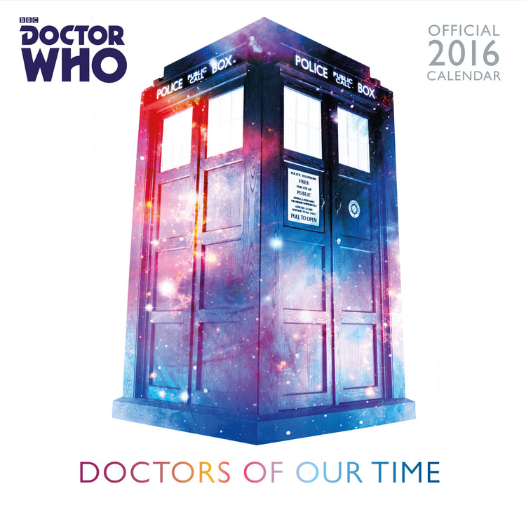 Kalenteri 2017 Doctor Who - Classic Edition