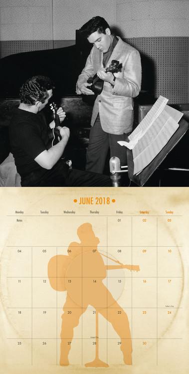 Kalenteri 2019  Elvis - Collectors Edition