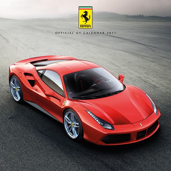Kalenteri 2018 Ferrari
