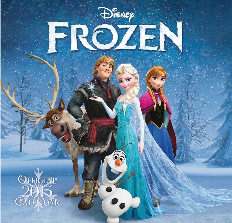 Kalenteri 2017 Frozen: huurteinen seikkailu