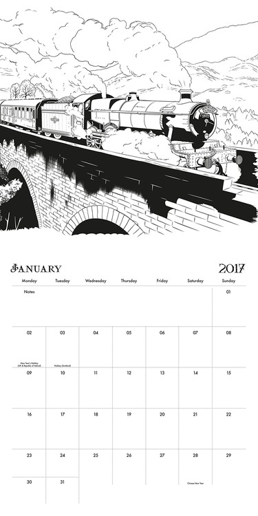 Kalenteri 2018 Harry Potter
