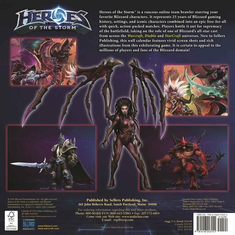Kalenteri 2018 Heroes of the Storm