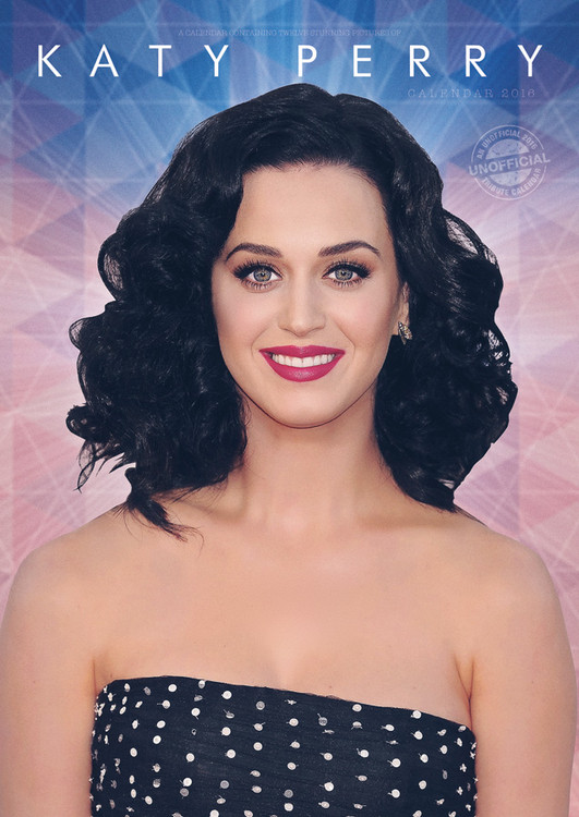 Kalenteri 2017 Katy Perry