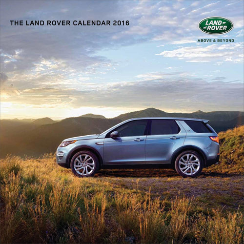 Kalenteri 2018 Land Rover