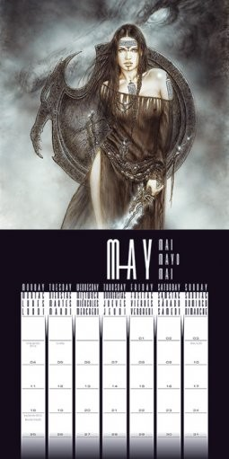 Kalenteri 2019  Luis Royo
