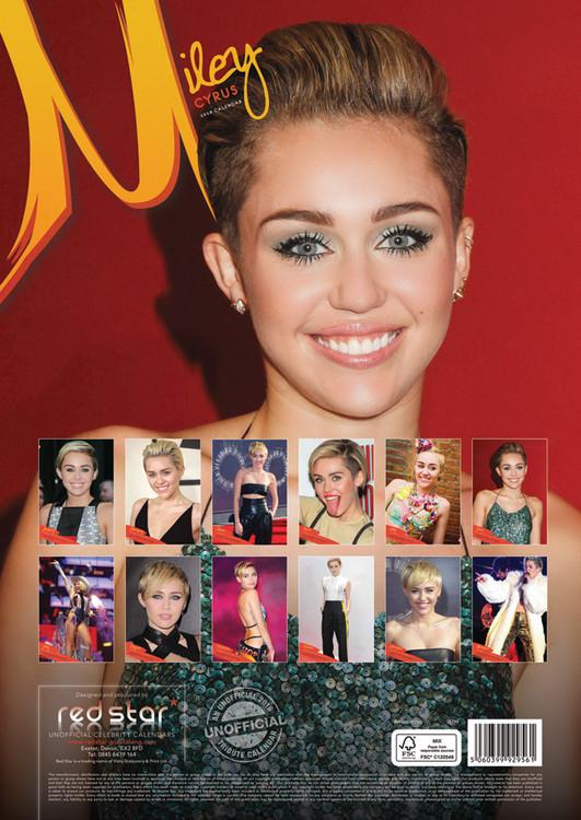 Kalenteri 2019  Miley Cyrus