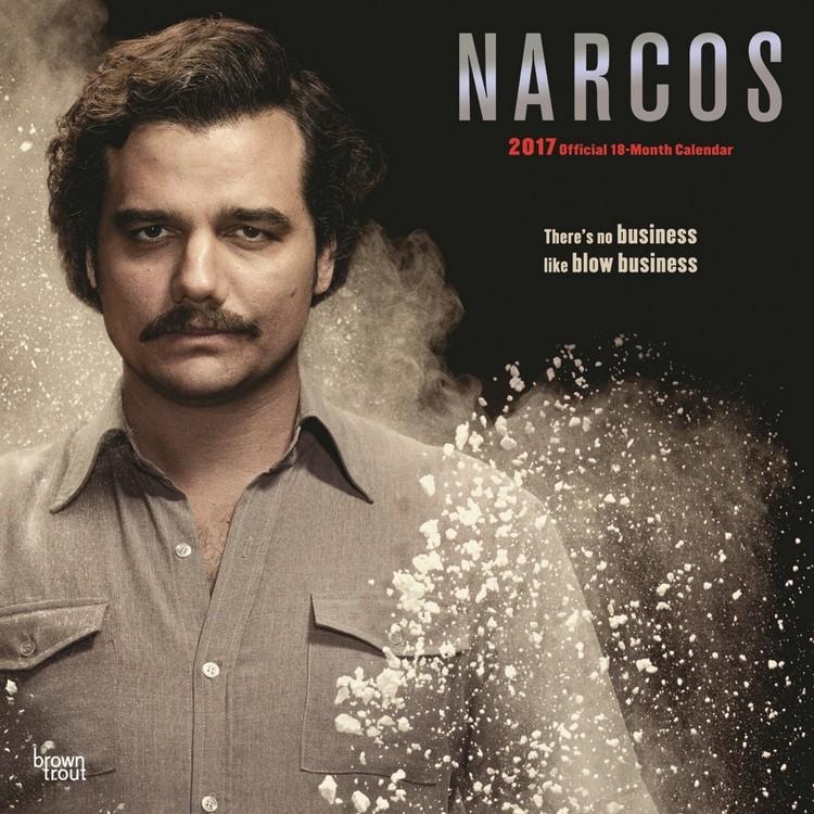 Kalenteri 2017 Narcos