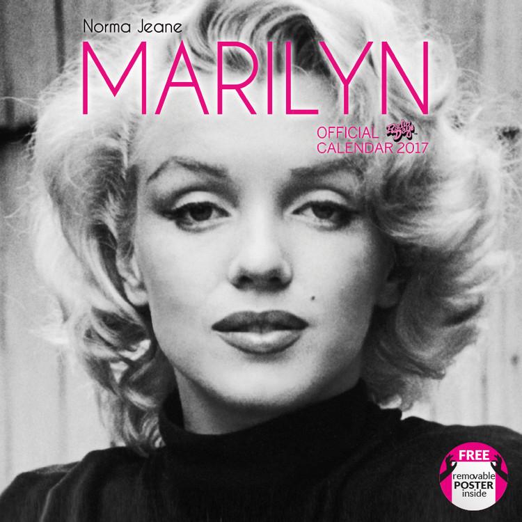 Kalenteri 2017 Norma Jeane (Marylin)