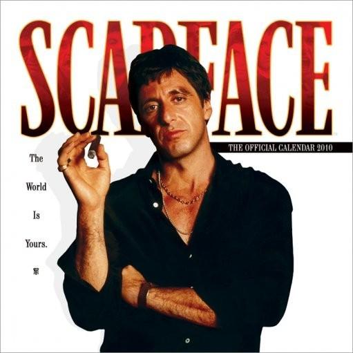 Kalenteri 2016 Official Calendar 2010 Scarface