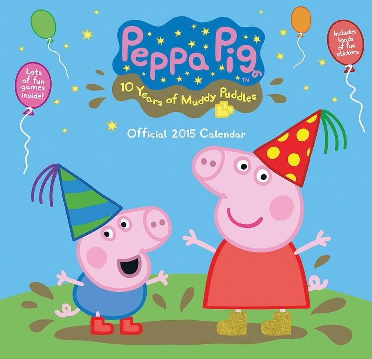 Kalenteri 2017 Pipsa Possu - Peppa Pig