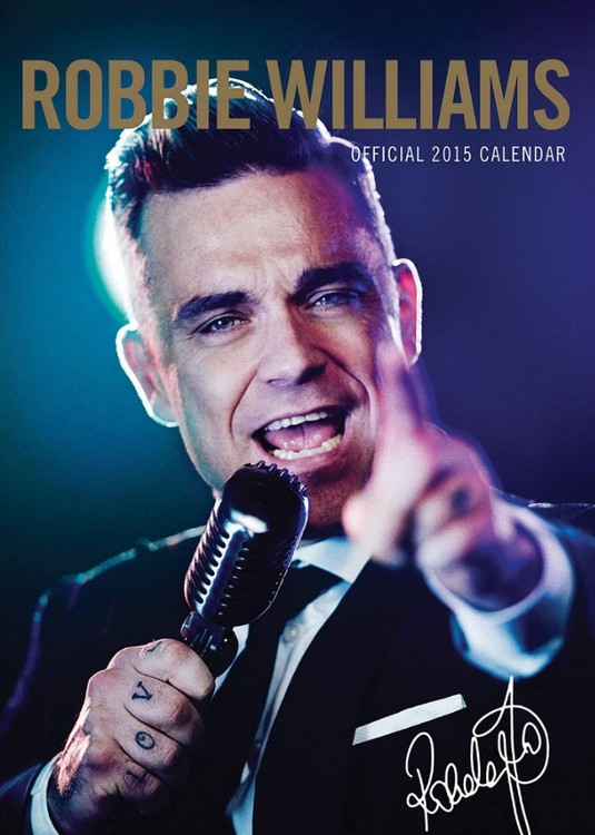 Kalenteri 2017 Robbie Williams