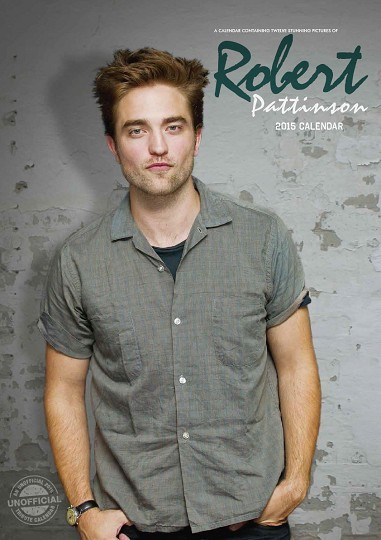 Kalenteri 2017 Robert Pattinson