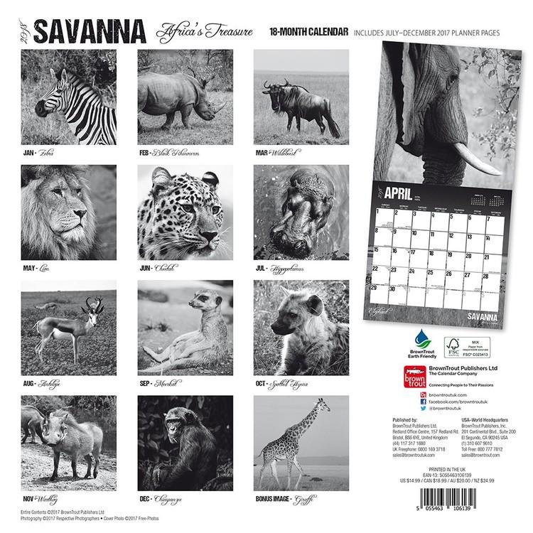 Kalenteri 2021 Savanna