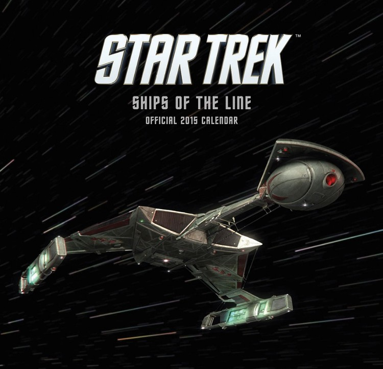 Kalenteri 2018 Star Trek
