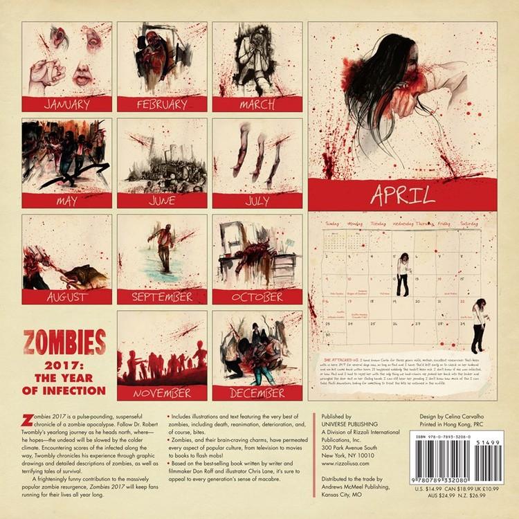 Kalenteri 2018  Zombie