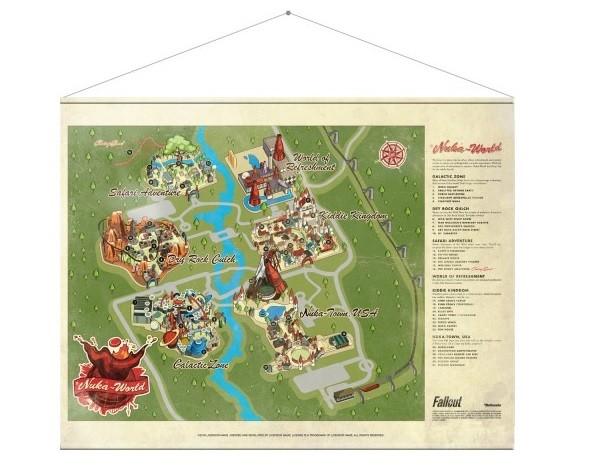 Kangasjulisteet  Fallout - Map