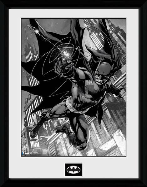 Kehystetty juliste Batman Comic - Hook