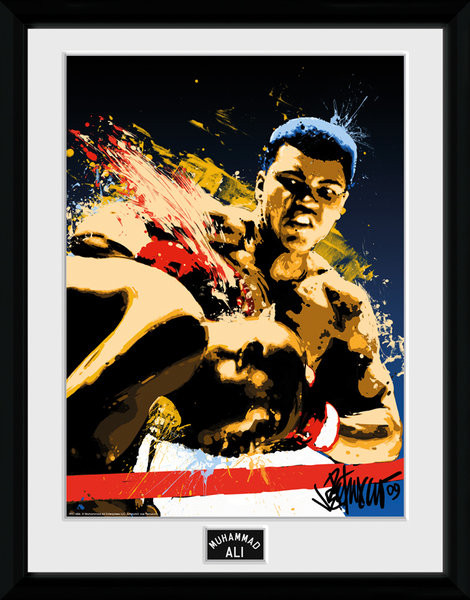 Muhammad Ali – Art 30x40cm Collector Print Kehystetty juliste