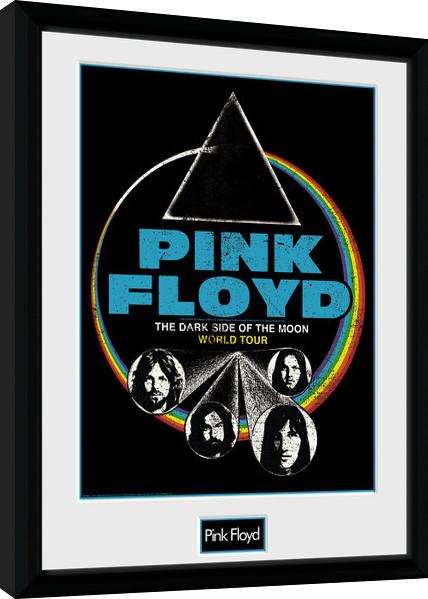 Pink Floyd - Dsom World Tour Kehystetty juliste