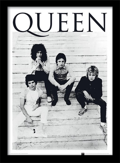 Queen - Brazil 1981 Kehystetty juliste