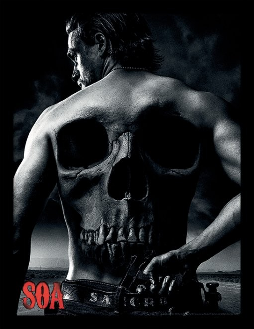 Kehystetty juliste Sons of Anarchy - Jax Back