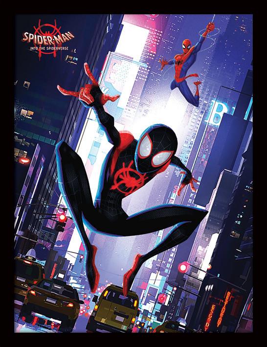 Spider-Man: Into The Spider-Verse - Swing Kehystetty juliste