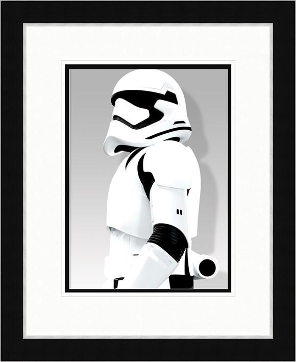 Tähtien sota Episodi VII: The Force Awakens - Stormtrooper Shadow Kehystetty juliste