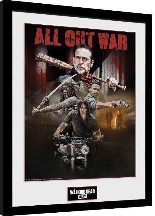 The Walking Dead - Season 8 Collage Kehystetty juliste