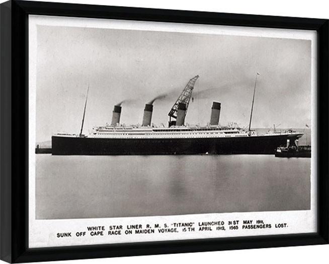Kehystetty juliste Titanic (1)