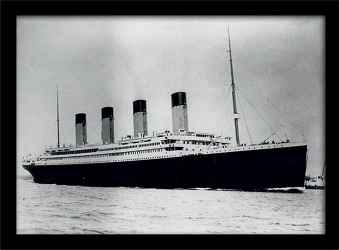 Kehystetty juliste Titanic (2)