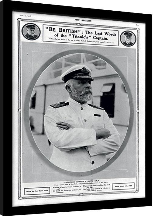 Kehystetty juliste Titanic (5)