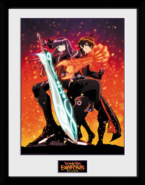 Twin Star Exorcists - Exorcists Kehystetty juliste